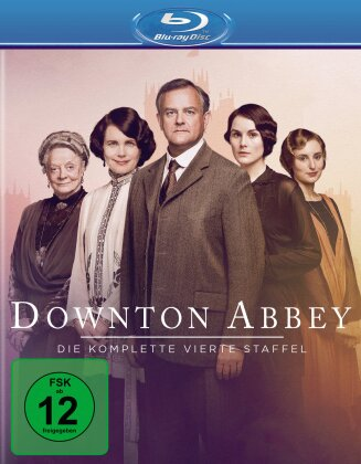 Downton Abbey - Staffel 4 (Neuauflage, 3 Blu-rays)