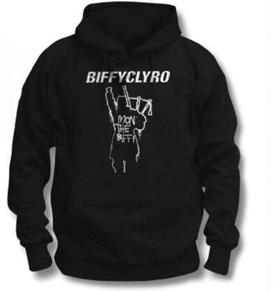 Biffy Clyro Unisex Pullover Hoodie - Mon The Biff