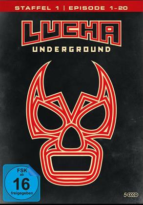 Lucha Underground - Staffel 1.1 - Episode 1-20 (4 DVDs)