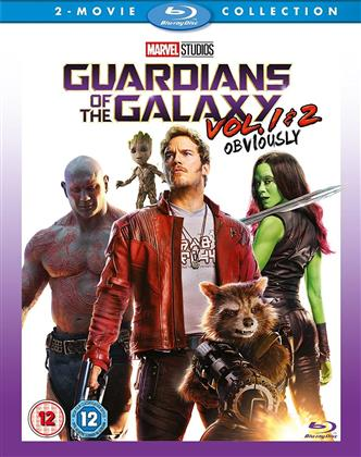 Guardians Of The Galaxy - Vol 1 & 2 - Obviously (2 Blu-rays)