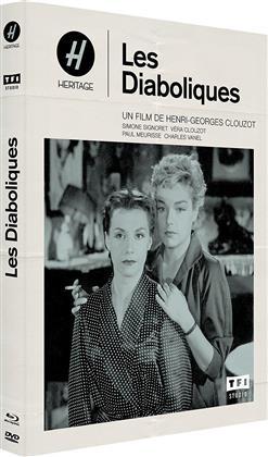 Les diaboliques (1955) (s/w, Mediabook, Blu-ray + DVD)