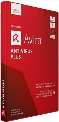 Avira Antivirus Plus 2018 - (2 Appareil)