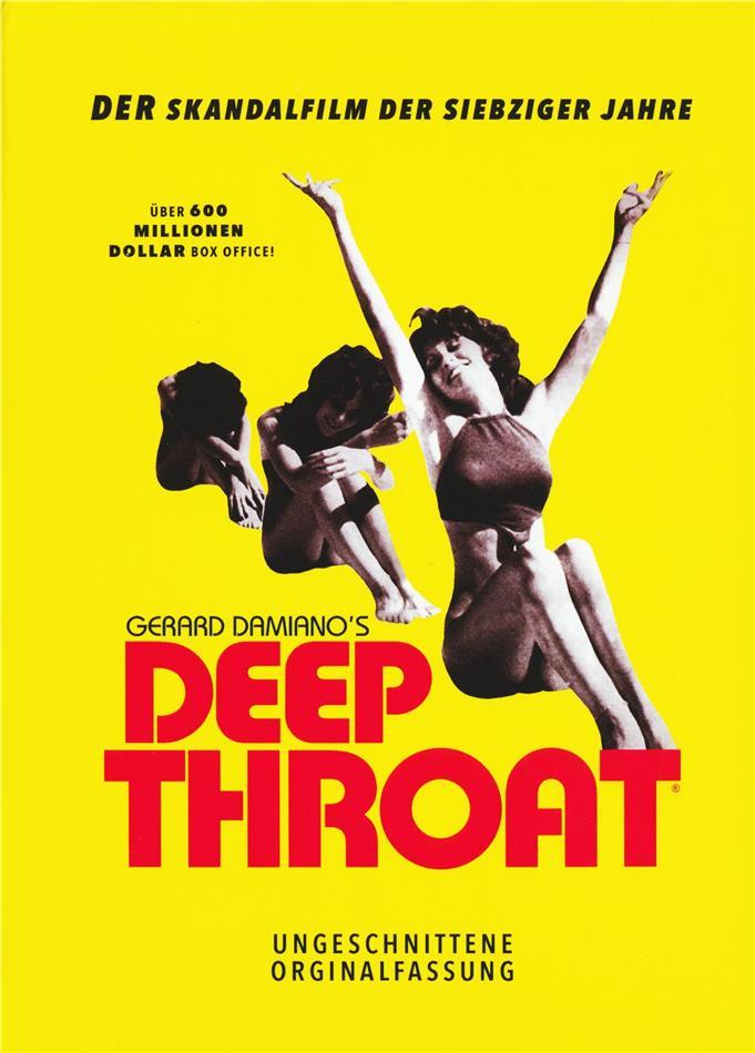 Deep Throat (1972) (Limited Edition, Mediabook, Restaurierte Fassung, Uncut, Blu-ray + DVD)