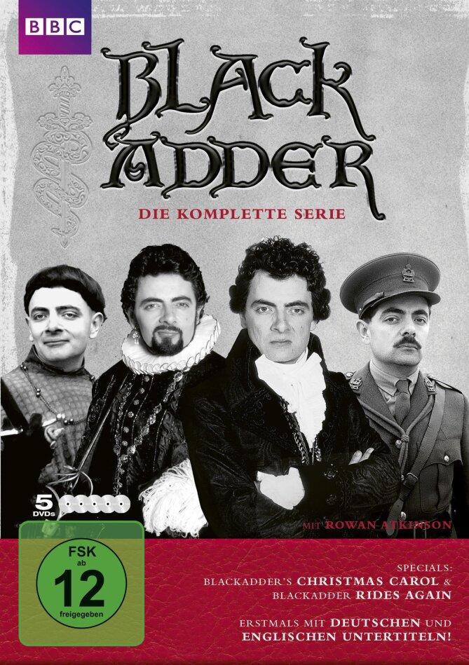 Black Adder - Die komplette Serie (BBC, Remastered, 5 DVDs)