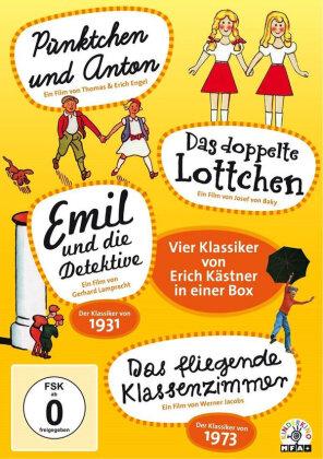 Erich Kästner - Vier Klassiker in einer Box (4 DVDs)