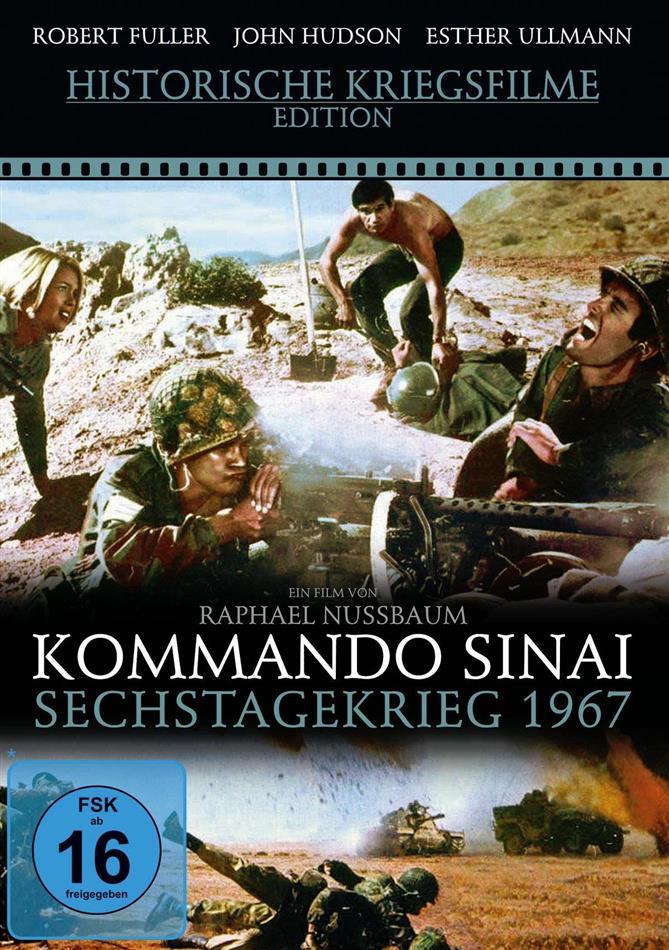 Kommando Sinai - Sechstagekrieg 1967 (Historische Kriegsfilme Edition)