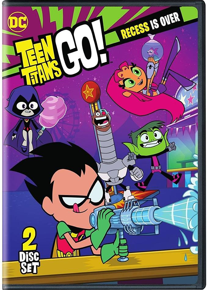 Teen Titans Go! - Season 4 Part 1 (2 DVDs)
