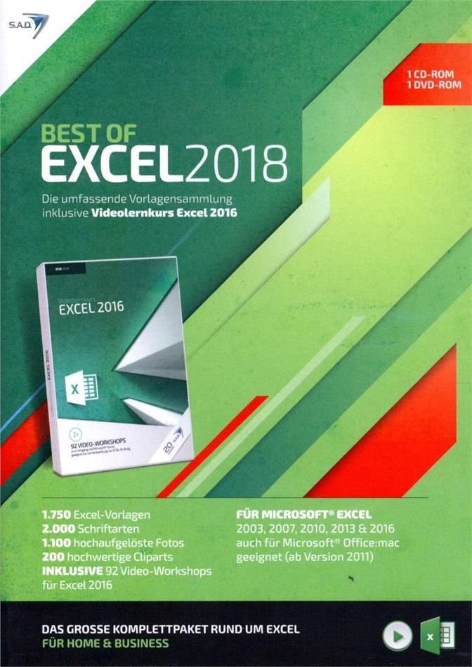 Best of Excel 2018 [inkl. Videolernkurs]
