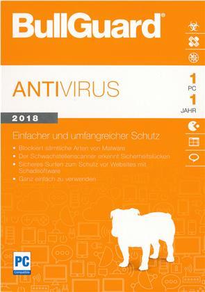 BullGuard Anti Virus 2018 [1 PC 1 Year]