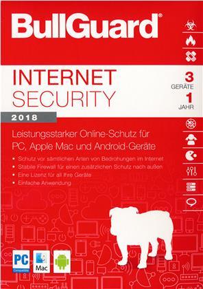 BullGuard Internet Security 2018 [3 Device 1 Year]