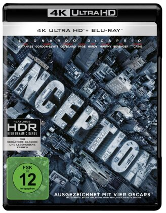 Inception (2010) (4K Ultra HD + Blu-ray)