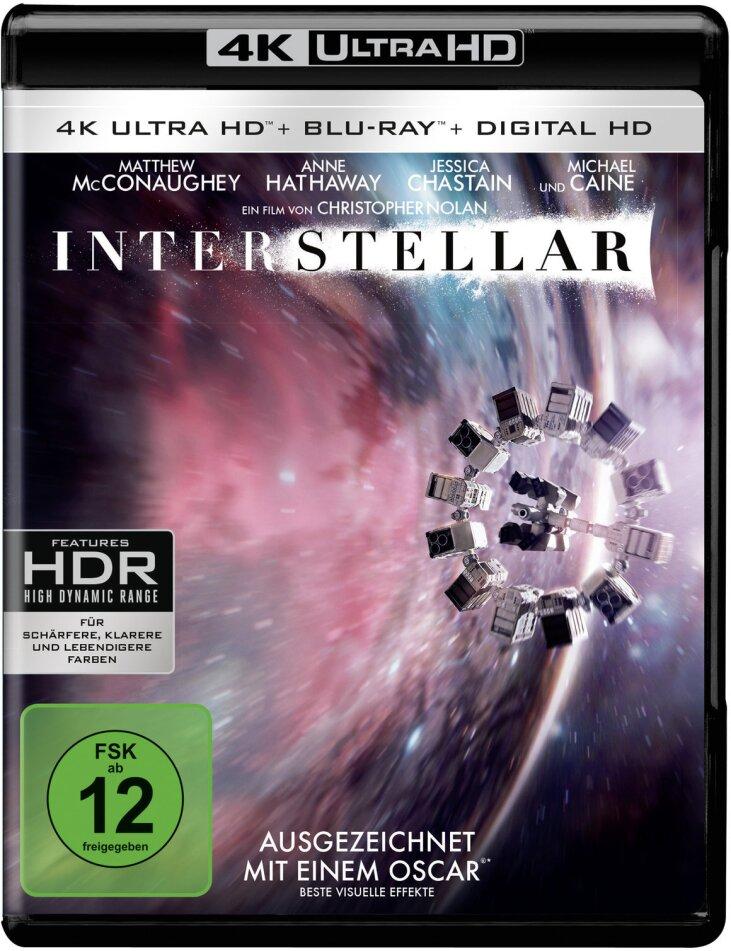 Interstellar (2014) (4K Ultra HD + 2 Blu-rays)