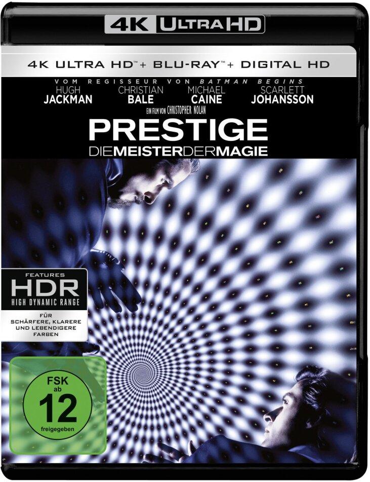 Prestige - Die Meister der Magie (2006) (4K Ultra HD + Blu-ray)