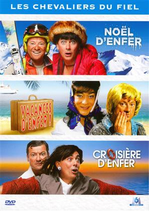Les Chevaliers du fiel - Noël d'enfer / Vacances d'enfer! / Croisière d'enfer (3 DVDs)