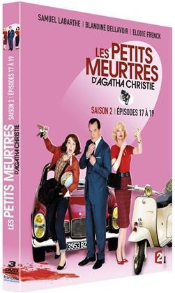 Les petits meurtres d'Agatha Christie - Saison 2 - Épisodes 17 à 19 (Digibook, 3 DVDs)