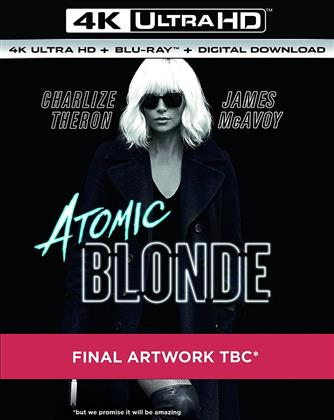 Atomic Blonde (2017) (4K Ultra HD + Blu-ray)