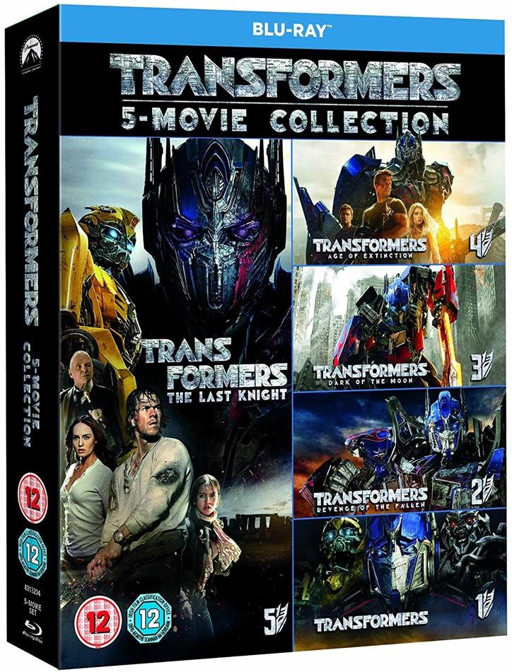 Transformers - 5-Film Collection (6 Blu-rays)