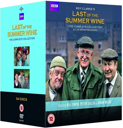 Last of the Summer Wine - The Complete Collection (BBC, 54 DVD)