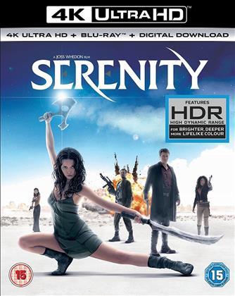 Serenity (2005) (4K Ultra HD + Blu-ray)