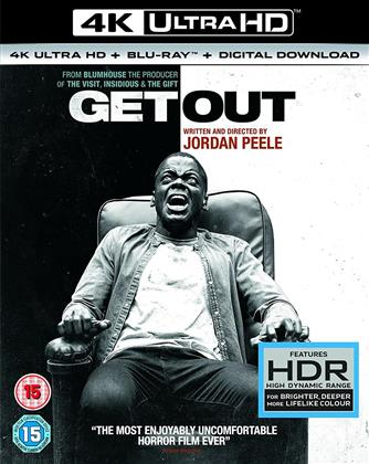 Get Out (2017) (4K Ultra HD + Blu-ray)