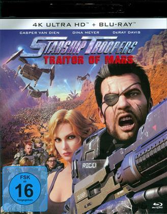 Starship Troopers - Traitor of Mars (2017) (4K Ultra HD + Blu-ray)