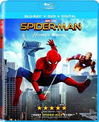 Spider-Man: Homecoming (2017) (Blu-ray + DVD)