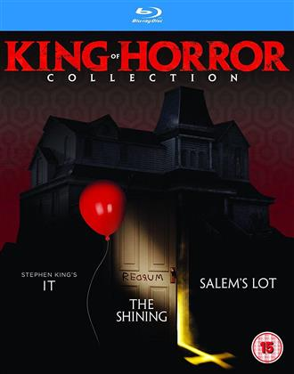 King Of Horror Collection - It (1990) / The Shining (1980) / Salem's Lot (1979) (3 Blu-ray)
