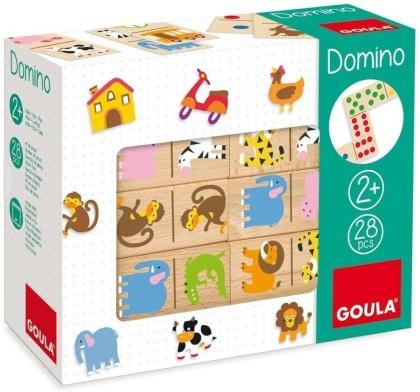 Goula Domino Zoo 28-teilig