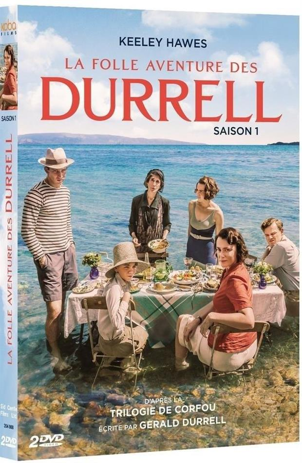 La folle aventure des Durrell - Saison 1 (BBC, 2 DVDs)