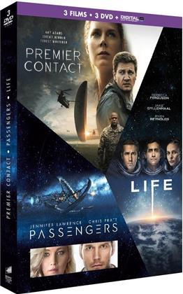 Premier Contact / Passengers / Life: Origine Inconnue (3 DVDs)