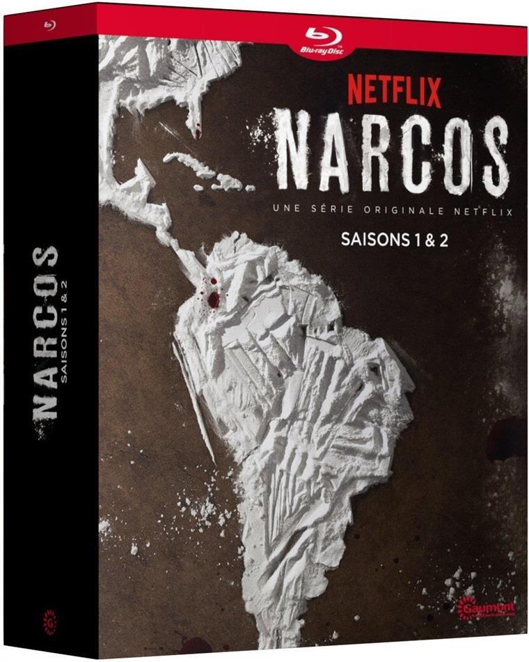 Narcos - Saisons 1 & 2 (8 Blu-rays)