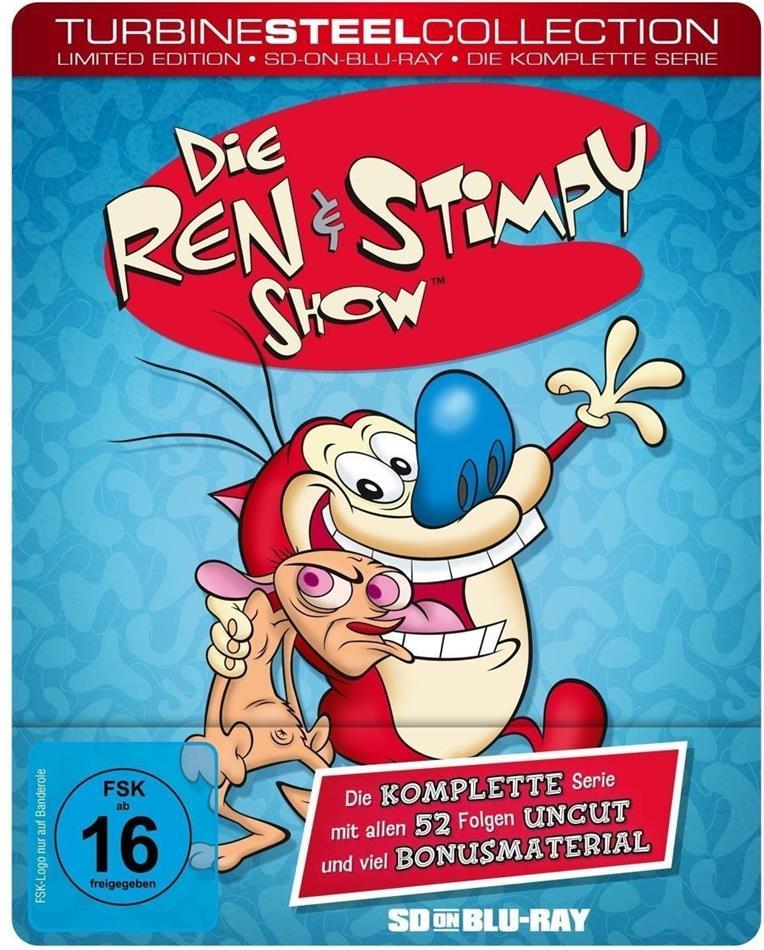 Die Ren & Stimpy Show - Die komplette Serie (Turbine Steel Collection, Limited Edition, Steelbook, 2 Blu-rays)