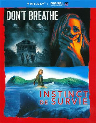 Don't Breathe / Instinct de Survie (2 Blu-ray)
