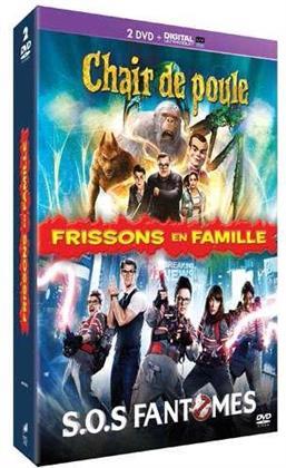 Frissons en Famille - Chair de poule / S.O.S. Fantômes (2 DVDs)