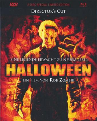 Halloween (2007) (Cover B, Director's Cut, Limited Edition, Mediabook, Special Edition, Blu-ray + DVD)