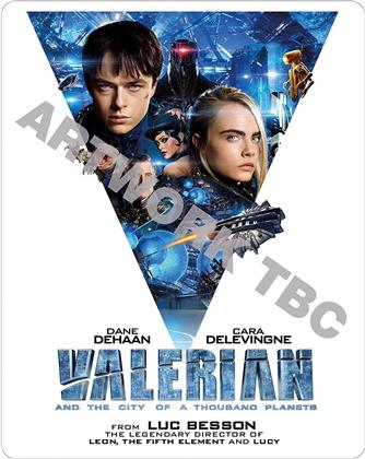 Valerian and the City of A Thousand Planets (2017) (Steelbook, Blu-ray 3D + Blu-ray)