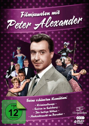 Peter Alexander - Seine schönsten Komödien! (Filmjuwelen, 4 DVD)