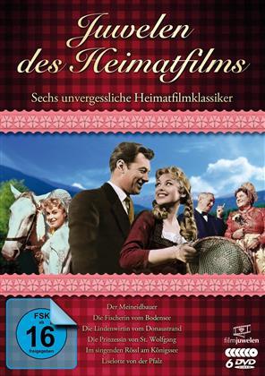 Juwelen des Heimatfilms - Sechs unvergessliche Heimatfilmklassiker (Filmjuwelen, 6 DVD)