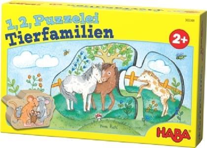 1,2, Puzzelei - Tierfamilien