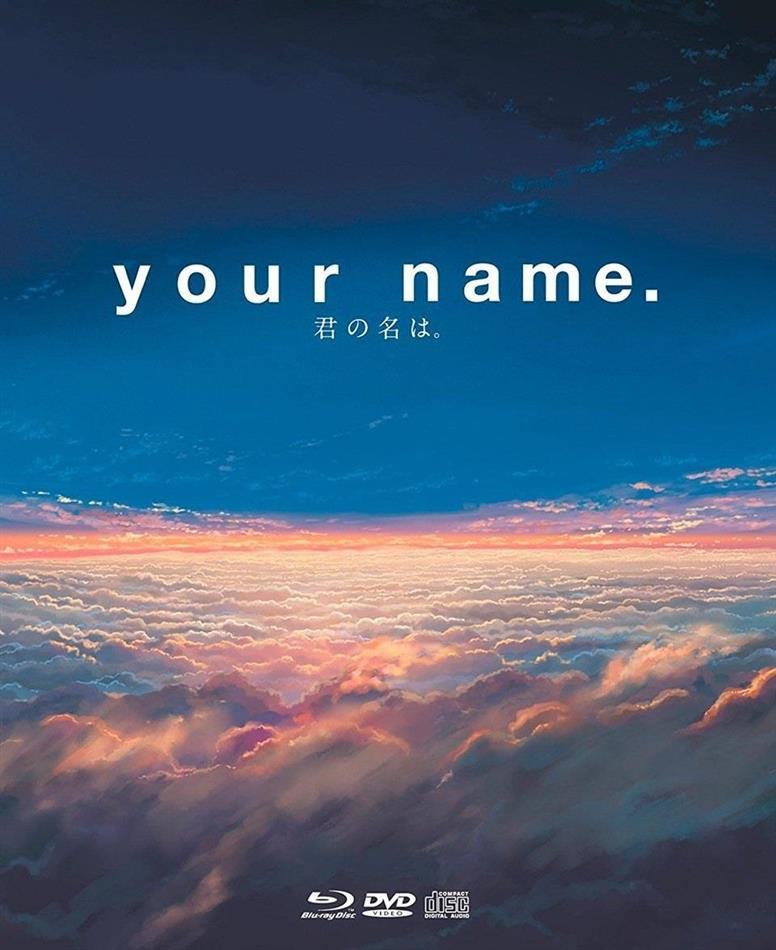 Your Name. (2016) (Collector's Edition Limitata, 2 Blu-ray + DVD + CD)