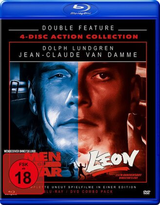 Men of War / Leon (Uncut, 2 Blu-rays + 2 DVDs)