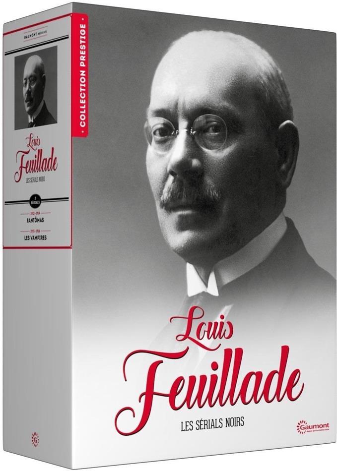 Louis Feuillade - Les sérials noirs (Collection Prestige, Gaumont, s/w, Limited Edition, 9 DVDs)