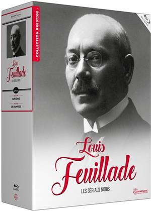 Louis Feuillade - Les sérials noirs (Collection Gaumont, s/w, Limited Edition, 8 Blu-rays)