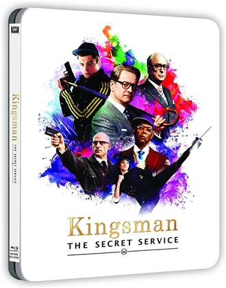 Kingsman - Services secrets (2014) (+ Goodies, Steelbook, Blu-ray + Book)