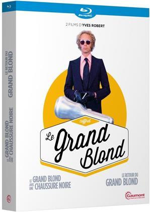 Le Grand Blond - Le grand blond avec une chaussure noire / Le retour du grand blond (Gaumont, 2 Blu-ray)
