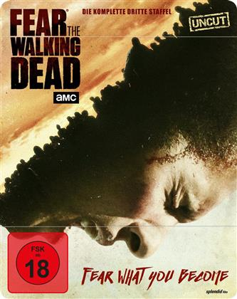 Fear the Walking Dead - Staffel 3 (Limited Edition, Steelbook, Uncut, 4 Blu-rays)