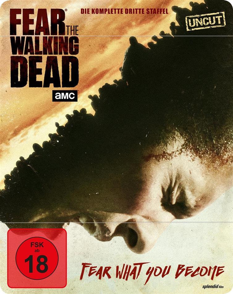 Fear the Walking Dead - Staffel 3 (Limited Edition, Steelbook, Uncut, 4 Blu-rays)
