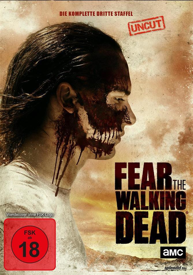 Fear the Walking Dead - Staffel 3 (Uncut, 4 DVDs)