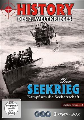 Der Seekrieg - Kampf um die Seeherrschaft - (History des 2. Weltkrieges) (Remastered, 3 DVDs)