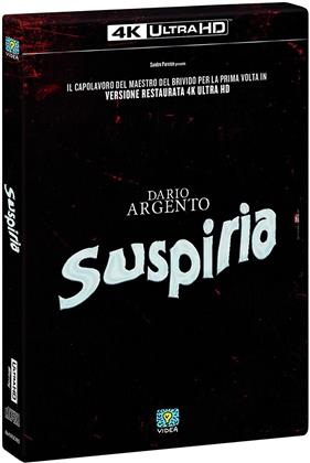 Suspiria (1977) (Restaurierte Fassung, 4K Ultra HD + Blu-ray + CD)